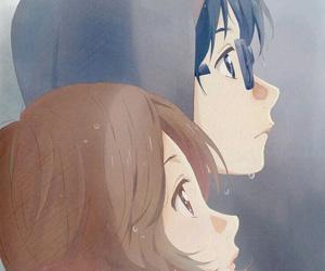 shigatsu wa kimi no uso and anime couple image