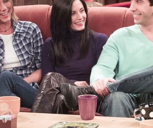 actors, coffee, and courtney cox image