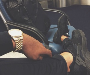 fashion, black, and sneakers image