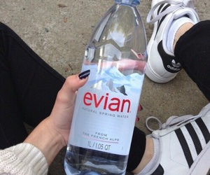 adidas, grunge, and evian image