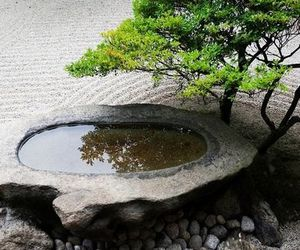 garden, japan, and peace image