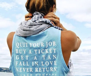 quotes, summer, and beach image