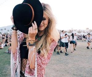 girl, coachella, and style image