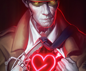 robot, fallout 4, and nick valentine image