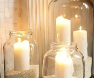 candle, light, and diy image