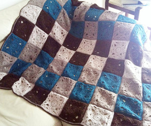 brown, etsy, and bed cover image