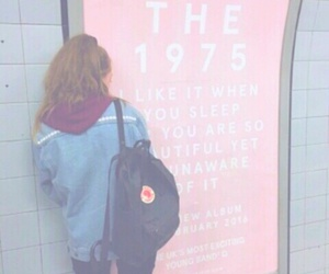the 1975, grunge, and pink image
