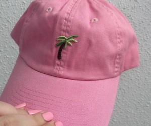 pink, hat, and cap image