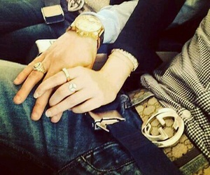 couple, gucci, and ma femme image