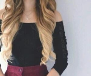hair, cabello, and mechas californianas image