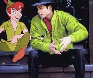 michael jackson and peter pan image
