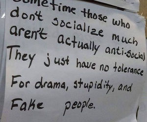 drama, people, and stupidity image