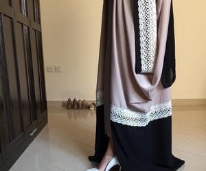 abaya, hijab, and islam image