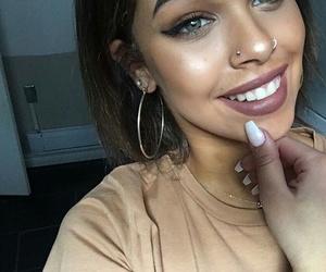 smile, tan, and nisrinasbia image