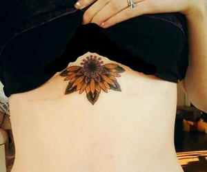 tattos and girasoles image
