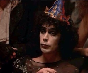 party, frank n furter, and Tim Curry image