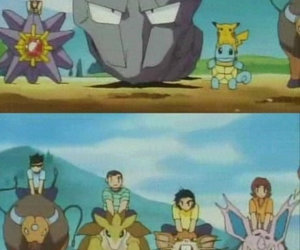funny and pokemon image