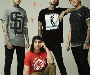 mike fuentes, pierce the veil, and rock image