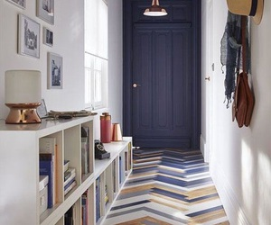 blue, door, and home image
