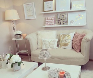 decoration, candle, and decor image