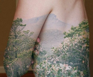 body, art, and nature image