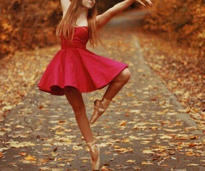ballet, dance, and autumn image