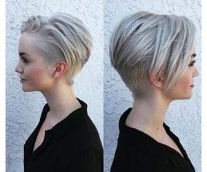 hair and pixie haircut image