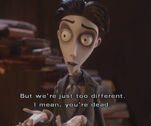 corpse bride, movie, and quote image
