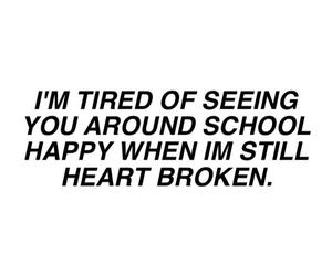 sad, tired, and poem image
