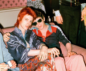 david bowie and lou reed image