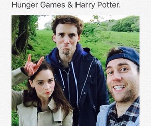 harry potter, the hunger games, and game of thrones image