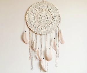 dreamcatcher, handmade, and room decor image