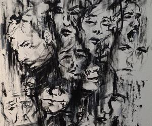 art, black, and indie image