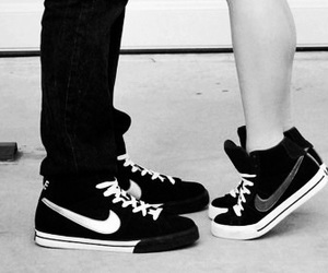 nike, love, and shoes image