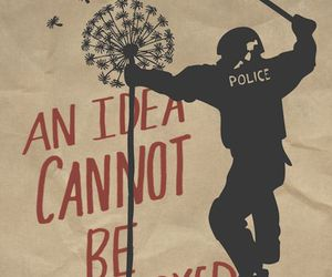 anarchy, idea, and police image