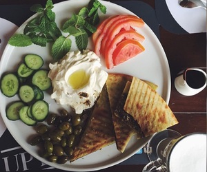 arabian, breakfast, and food image