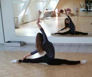 gymnastics, dance, and fitness image