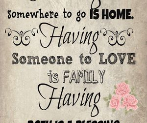 quote, love, and family image
