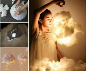 diy, clouds, and light image