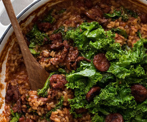 food and risotto image