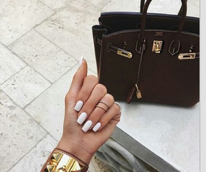 bag, bracelet, and nail image