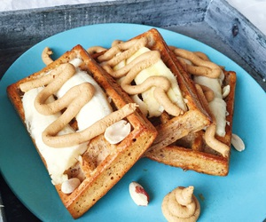 healthy and waffles image