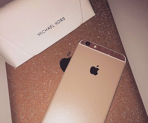 iphone, glitter, and Michael Kors image