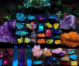 crystal, colors, and stones image