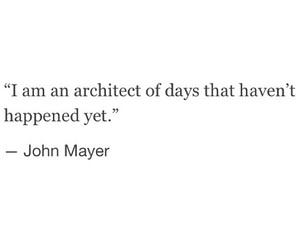 architect, dreams, and john mayer image