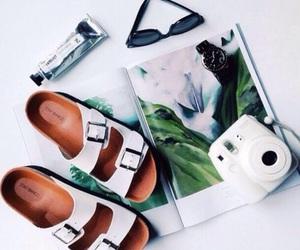 summer, polaroid, and camera image