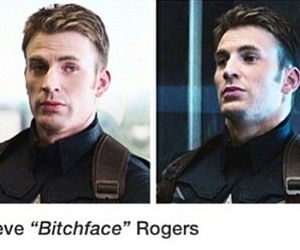 hero, Marvel, and steve rogers image