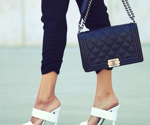 black, chanel, and fashion image