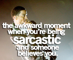 awkward, moment, and quote image