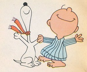 snoopy, charlie brown, and cute image